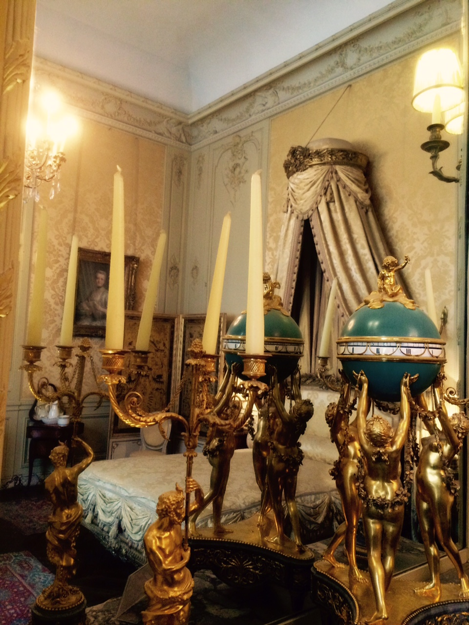 A Second Empire Style Bedroom Museum Jacquemart Andre Paris France On The London Tour 1 May 2017