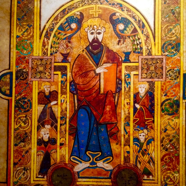 And example of the rich illustrations of the Book of Kells